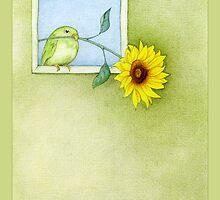 Sunflower Bird by Mariana Musa