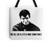 Norman Bates 'Psycho' Design Tote Bag
