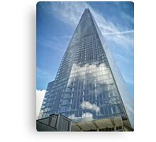 The Sky in The Shard Canvas Print