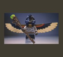 Flying Mummy Minifigure with Wings & Custom Magical Staff by Chillee
