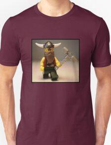 Thor Minifig Viking Custom Minifigure with Custom Beard  Unisex T-Shirt