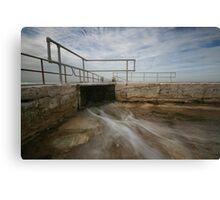 Merewether Baths 6 Canvas Print