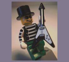 Emo, Goth, Punk, Band Guitarist Custom Minifigure Kids Clothes