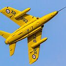 Hawker Siddeley Gnat T.1 XS102 G-MOUR by Colin Smedley