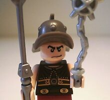 Gladiator 'Cracalla the Gladiator' Custom Minifig by Chillee