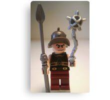 Gladiator 'Cracalla the Gladiator' Custom Minifig Canvas Print