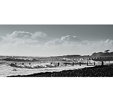 Stormy Seas at West Beach Photographic Print