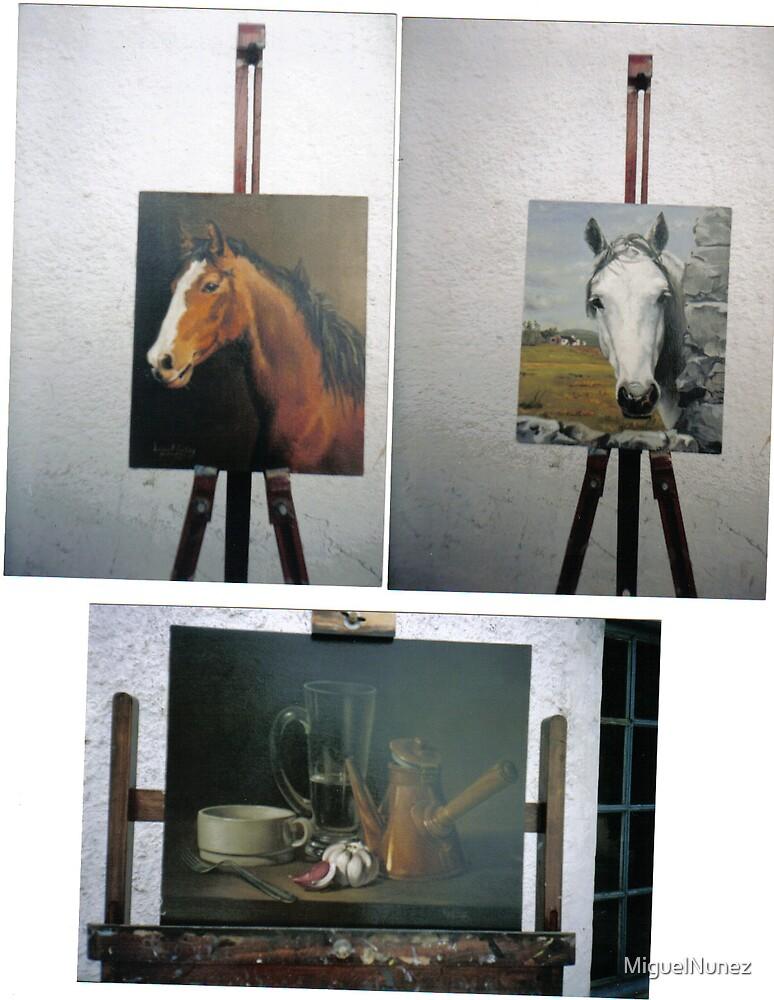 creole horses by MiguelNunez