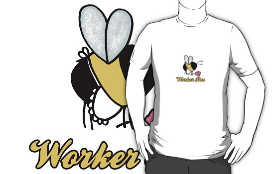 Worker Bee - cleaner/maid by Corrie Kuipers