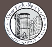 NYC - I met life up Park Avenue  T-Shirt