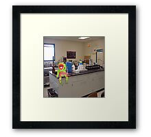 Damn it Man, Its SCiENCE !! Framed Print