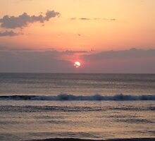 Sunrise At Kitty Hawk, NC by nansnana62