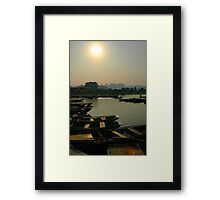 Paddled Framed Print