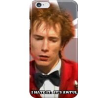 JOHNNY HATES IT iPhone Case/Skin