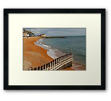 Ventnor Beach Framed Print