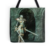 Angeluz - Knight in Shining Armour Tote Bag