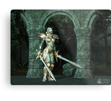 Angeluz - Knight in Shining Armour Metal Print