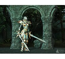Angeluz - Knight in Shining Armour Photographic Print