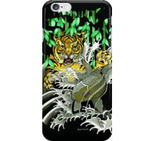 Tiger Attack iPhone Case/Skin