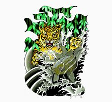 Tiger Attack Men's Baseball ¾ T-Shirt