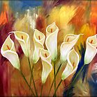 The Lily Garden by Peggy Garr