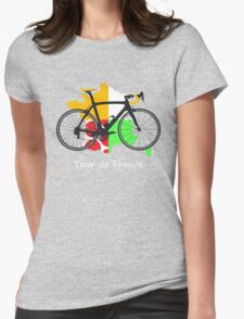 Tour de France Womens Fitted T-Shirt