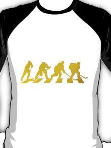 smart crossing (hockey road golden) T-Shirt