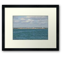 Hurst Castle Framed Print