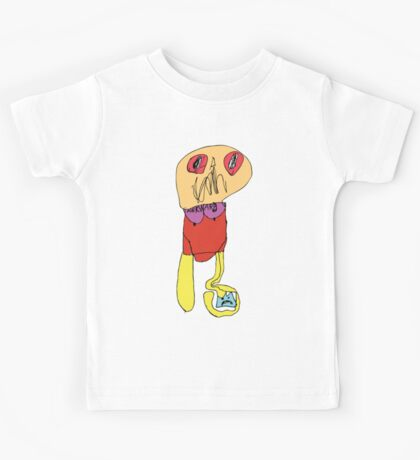 RTD0006C - Awkward - Colour Kids Tee