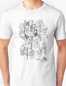 LINEart T-shirt: 100 <Inspiration from House.> T-Shirt