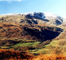 The Coniston Fells by Gordon Hewstone