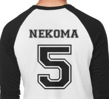 Haikyuu!! - Nekoma Kenma Kozume Men's Baseball ¾ T-Shirt