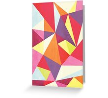Triangalize Greeting Card