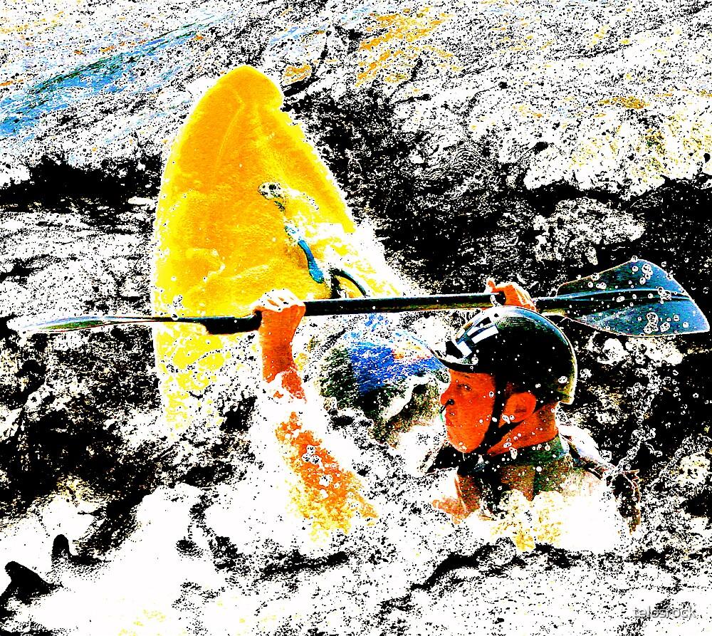 negative art Chuck by telosrock