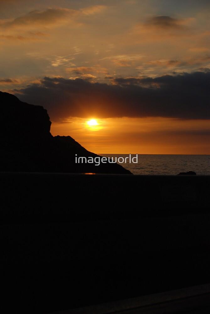 Cornish riviera Sunset by imageworld