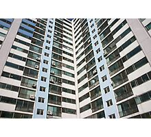 apartment blocks Photographic Print
