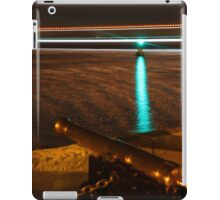 Red Jet 3 passing the Royal Yacht Squadron at Night iPad Case/Skin