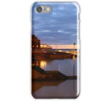 Royal Yacht Squadron at Night iPhone Case/Skin