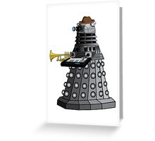 Jazzy dalek Greeting Card