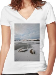 Derwentwater Women's Fitted V-Neck T-Shirt