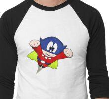 Arcade Classic - Bomb Jack Figure Men's Baseball ¾ T-Shirt