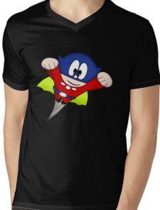 Arcade Classic - Bomb Jack Figure Mens V-Neck T-Shirt