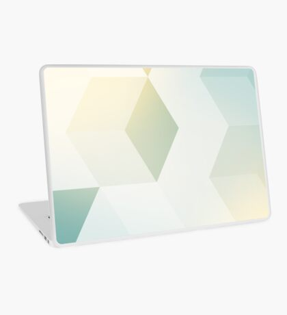 Shiny abstract geometry Laptop Skin