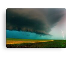 Shelf Cloud Overhead Canvas Print