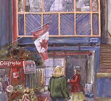Saint John City Market (with Canada Flag) by artattic