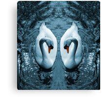 Swan III Canvas Print