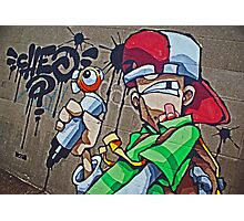 Cheo- I can scribble! Photographic Print