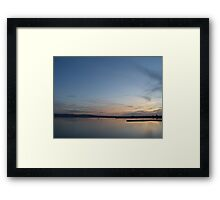 Blue Night Framed Print