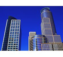 skyscrapers - towers of strength Photographic Print
