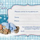 Baptism Party Invitation by fajjenzu